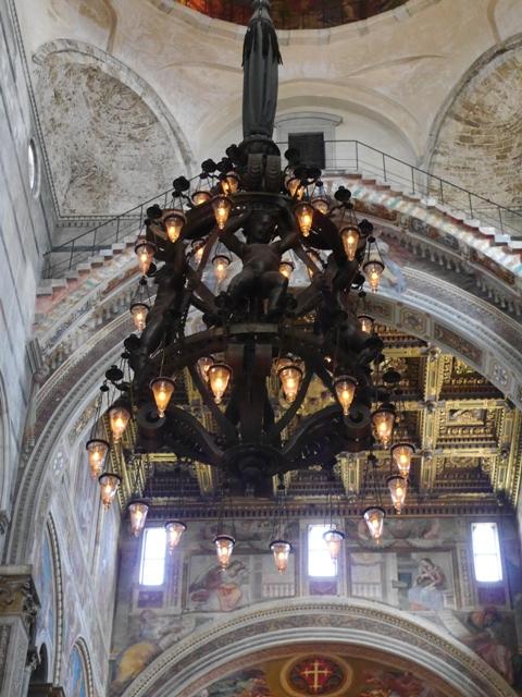 Duomo Pise la lampe de Galilée