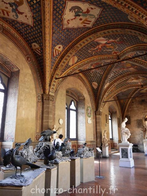 Bargello - architecture intérieure - Florence - 2