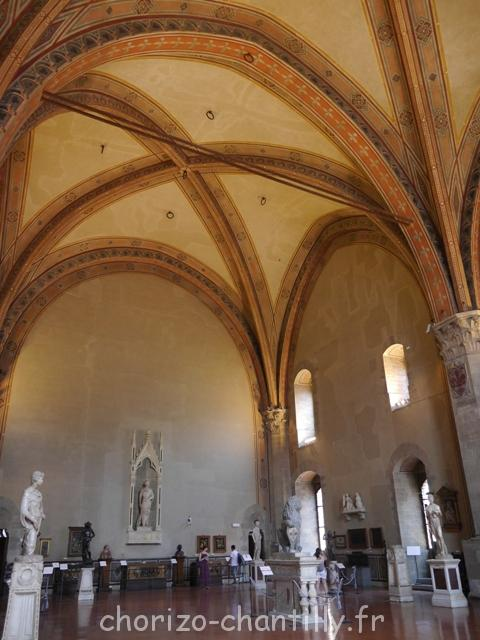 Bargello - architecture intérieure - Florence