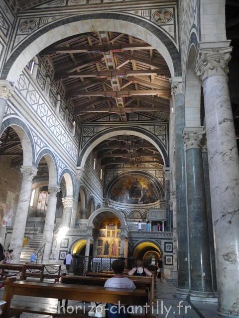 Chiesa San Miniato al Monte - Florence - interieur
