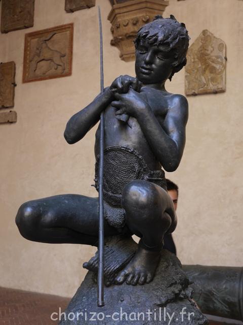 Petit pêcheur en bronze - Bargello - Florence