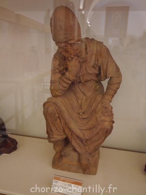 Sculpture - penseur - Bargello - Florence