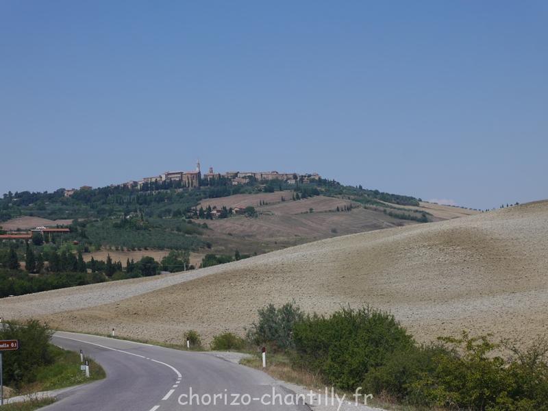 Paysage Val d'Orcia Août 2015 Toscane 2