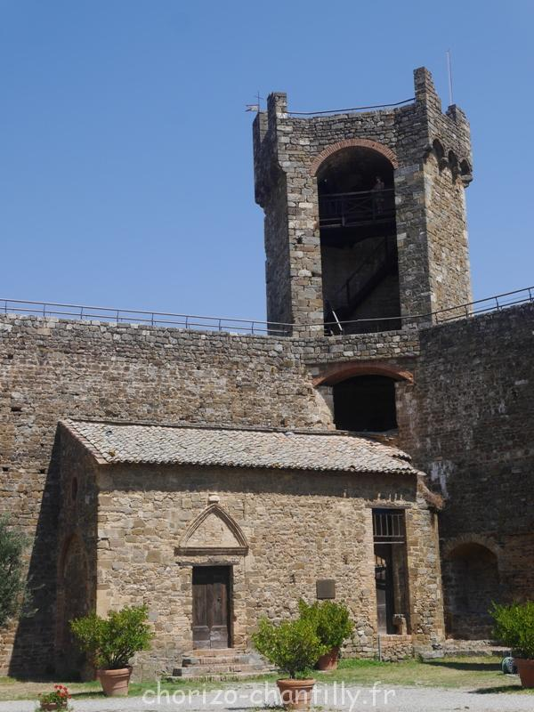Val D'Orcia Montalcino Forteresse