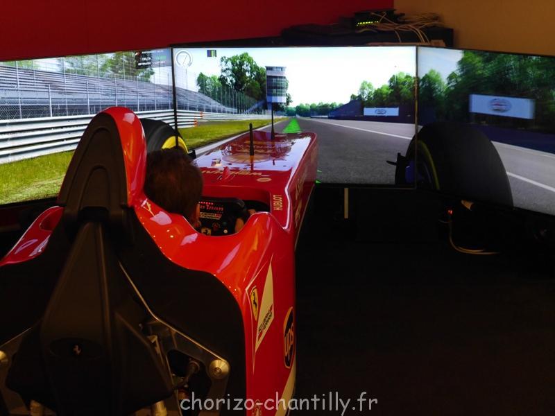 Musée Ferrari Modene jeu courses virtuelles